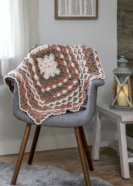 Monkey Bread Throw in Premier Yarns Sweet Roll - Downloadable PDF