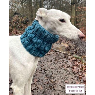 Doggy Bobble Snood by Melu Crochet