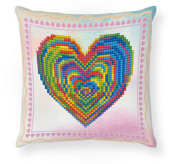 Diamond Dotz Mini Pillow - Love Rest Diamond Painting Kit