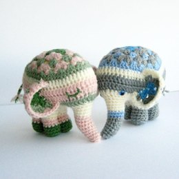 Noodle The Elephant Amigurumi Pattern