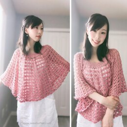 Rose Finch Capelet