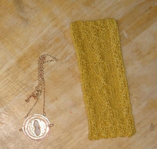 Harry Potter Time-Turner Bookmark Knitting pattern by ...