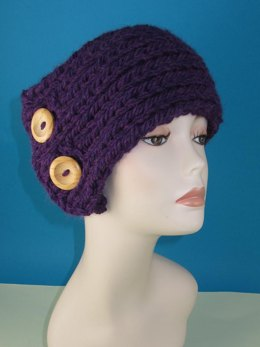 Super Chunky 2 Button Rib Headband