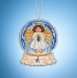 Mill Hill Charmed Snow Globes - Angel Globe