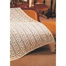 Lace Pattern Blanket in Patons Canadiana