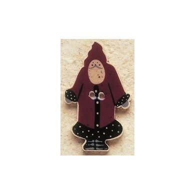 Mill Hill Button 43009 - Santa Front View