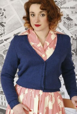 Princess Twinset Cardigan in Susan Crawford Excelana 4 Ply