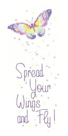 Heritage Spread Your Wings Cross Stitch Kit