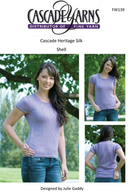 Shell in Cascade Heritage Silk - FW139