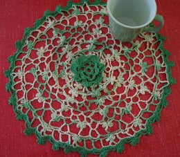 Irish Eyes Doily