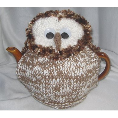 Knitting Pattern For An Owl Tea Cosy : Barn Owl Tea Cosy Knitting pattern by Rian Anderson ...