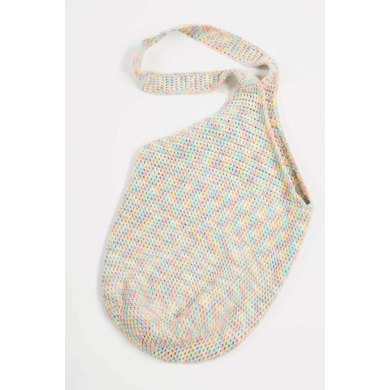 Crochet Tote in Plymouth Yarn Fantasy Naturale - F211