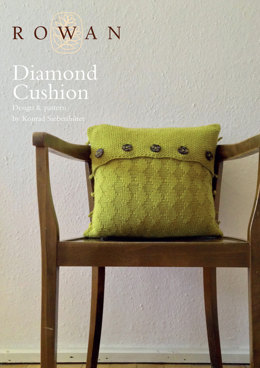 Diamond Cushion in Rowan Pure Wool Worsted