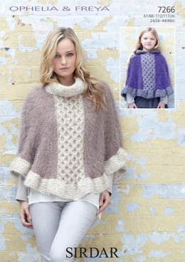 Capes in Sirdar Ophelia and Freya - 7266