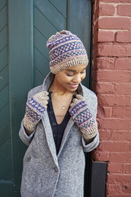 Bridgham Hat & Gloves in Berroco Providence - Downloadable PDF