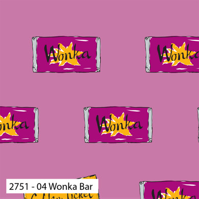 Craft Cotton Company Charlie and the Chocolate Factory - Wonka Bar