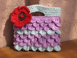 Girls Bag / Purse With Poppy