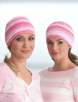 Chemo Cap in Bernat Handicrafter Cotton Solids