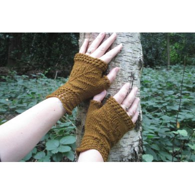 Fossilised ferns mitts