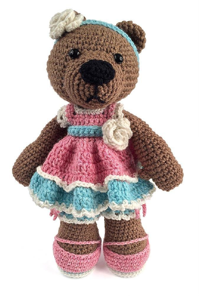 Remember Me Christmas Bears (Amigurumi To Go!) | Crochet bear ... | 1000x674