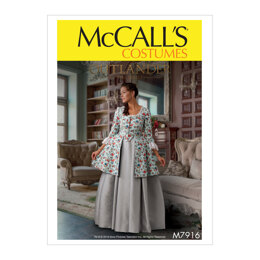 McCall's Misses' Costume M7916 - Sewing Pattern