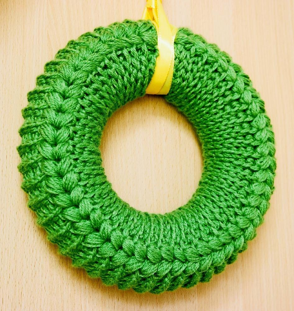 Summer wreath with a chart Crochet pattern by Oksik