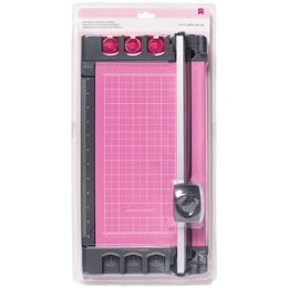 """American Crafts Pink Portable Cartridge Trimmer 8""""X12"""" - 192327"""