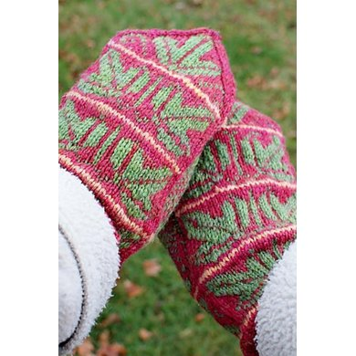 The Holly And The Ivy Knitting Pattern By Rebecca Osborn Knitting