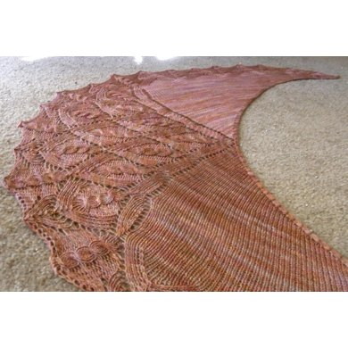 Bryce Canyon Shawl