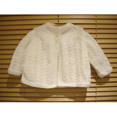 Baby Traditional Matinee Jacket