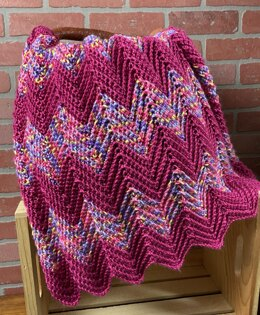 EASY Ripple Baby Blanket
