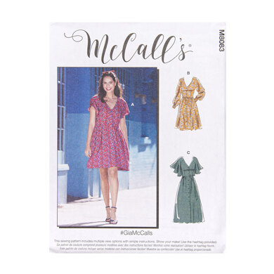 McCall's Misses' Dresses M8083 - Sewing Pattern