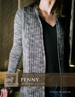 Penny Cardigan in Juniper Moon Findley DK Dappled - Downloadable PDF