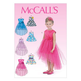 McCall's Children's/Girls' Dresses M7077 - Sewing Pattern