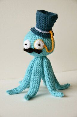 Octopus Like A Sir... Octopus Crochet Pattern, Octopus Amigurumi