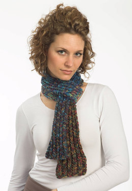 Mistake Rib Scarf in Plymouth Happy Feet - F287