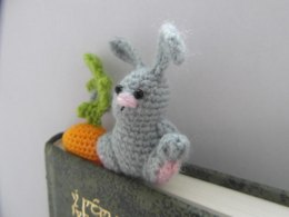 Hungry bunny bookmark