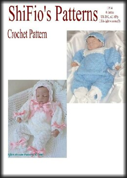 Crochet Pattern baby girl, baby boy UK & USA Terms #34