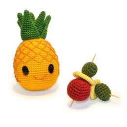 Pineapple / Ananas - Party Fruit - Amigurumi