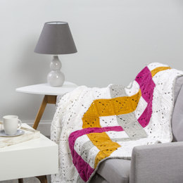 Woven Throw in Premier Yarns Everyday Bulky - Downloadable PDF
