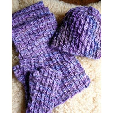 Paris-Roubaix Mitts, Hat, and Scarf
