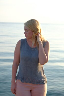 Paxos Tank Top in Knit One Crochet Too Daisy - 2442 - Downloadable PDF