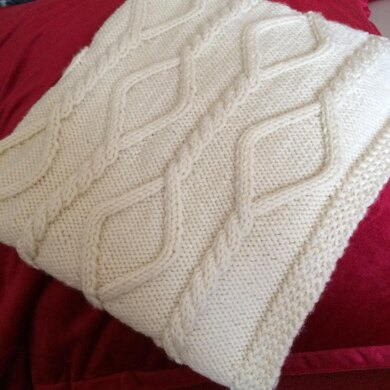 Chain Cable Knitting Pattern