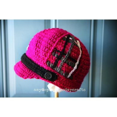 Plaid Patches Hat