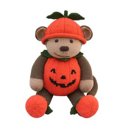 Pumpkin Costume (Knit a Teddy)
