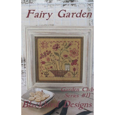 Blackbird Designs Fairy Garden (11/12) Garden Club Series - BD282 - Leaflet