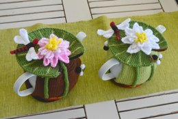 Water Lily & Dragonfly Tea Cozy