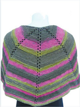 Half Moon Capelet in Knit One Crochet Too Ty-Dy - 1432