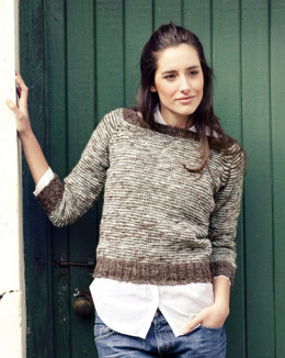 Marais Sweater in Manos del Uruguay Clasica Wool Semi-Solid - 2010A
