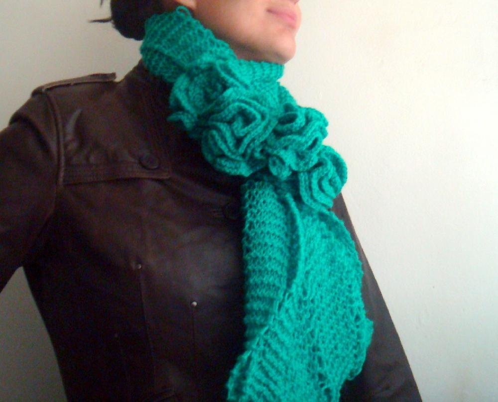 Aran Infinity Scarf Knitting Pattern : Knitted infinity scarf Knitting pattern by Faima